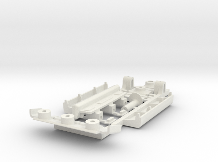 Chassis for Scalextric Triumph TR7 3d printed