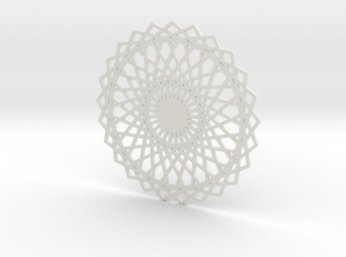 Coaster_3 3d printed