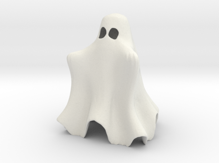 sheet ghost 3d printed