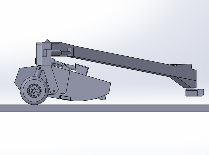 Mower Conditioner - Right Side Offset 3d printed