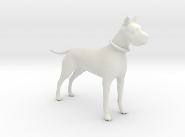 Printle Thing Danish Dog - 1/32 3d printed