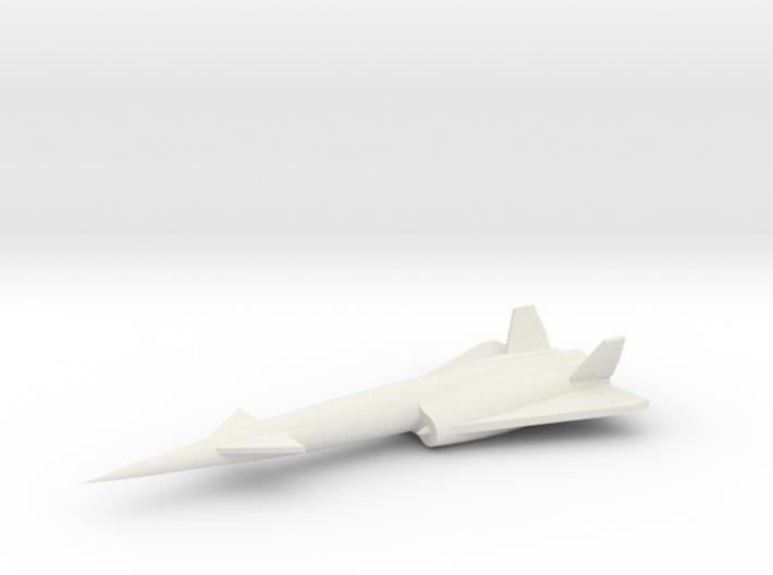 1/200 Scale Navaho SM-64 Missile 3d printed