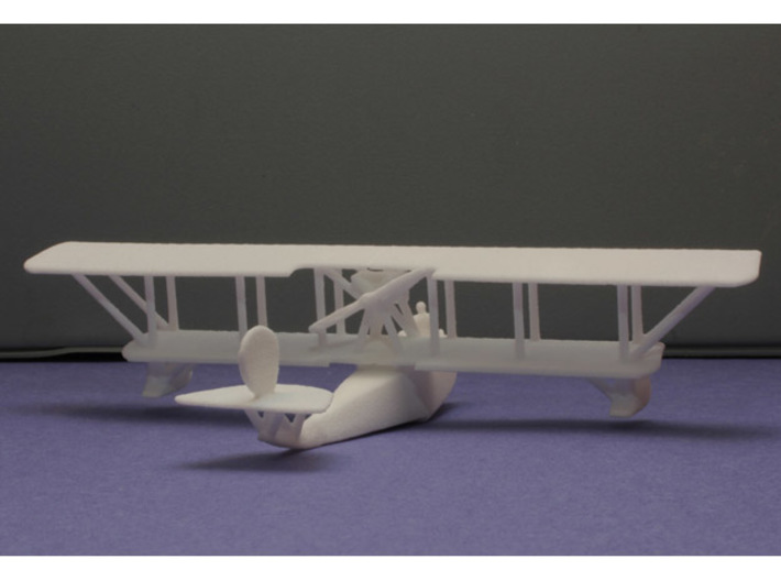 F.B.A. Type H Flying Boat 3d printed 1:144 FBA Type H print
