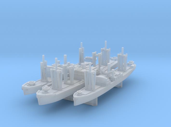 1/3000 IJN Transports x3 (FUD) 3d printed