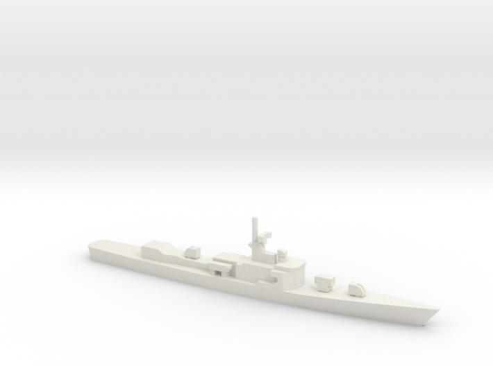 Garcia-class frigate, 1/1800 3d printed