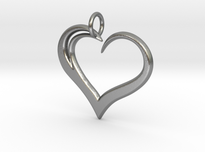 Heart to Heart Pendant V3.0 3d printed