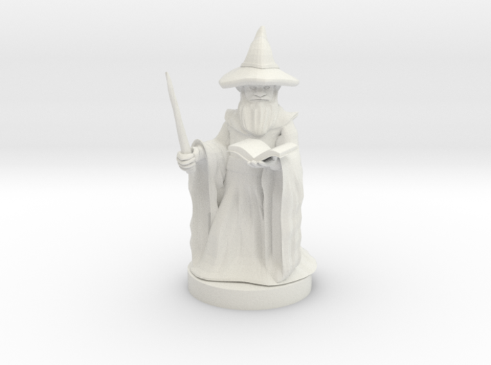 Gnome Wizard 3d printed