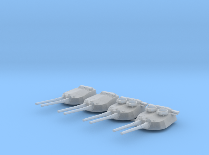 "1/700 15"" MKI* HMS Queen Elizabeth Guns 1943 BB 3d printed 1/700 15"" MKI* HMS Queen Elizabeth Guns 1943 BB"