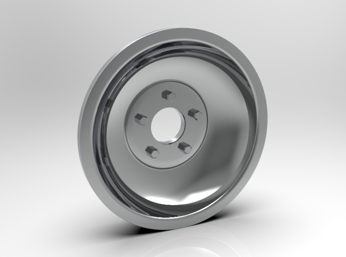 1:8 Front Indy Style Wheel 3d printed Computer Render Shown