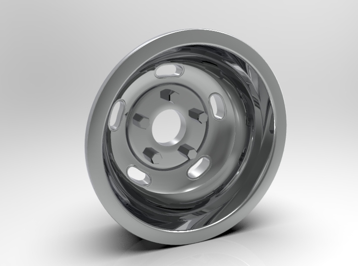 1:8 Rear Indy Kidney Bean Wheel 3d printed Computer Render Version