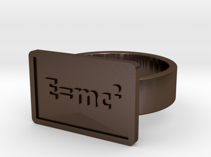 The Equivalence of Mass/Energy Ring 3d printed