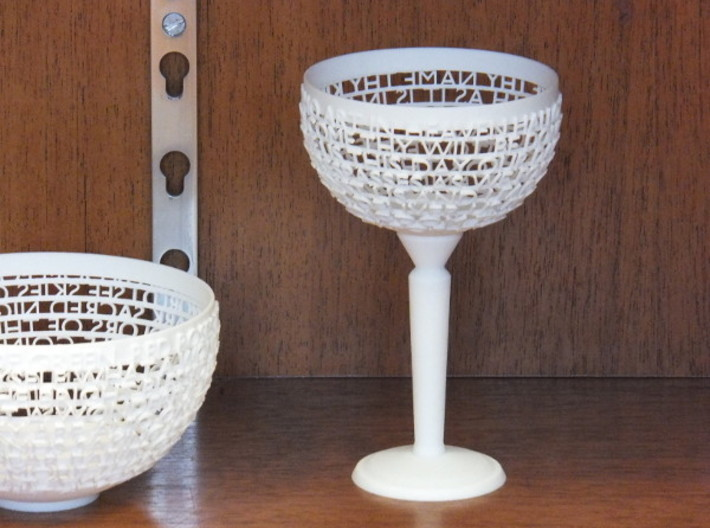 Customizable Birthday Chalice 3d printed Photo of this design, but with different text.
