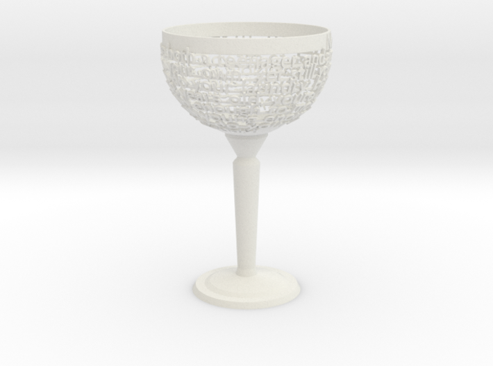 Customizable Chalice 3d printed