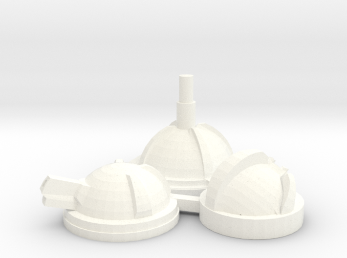 Blister Turrets 3d printed