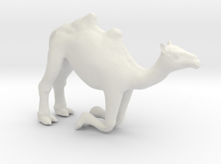 Printle Thing Camel Kneeling - 1/24 3d printed