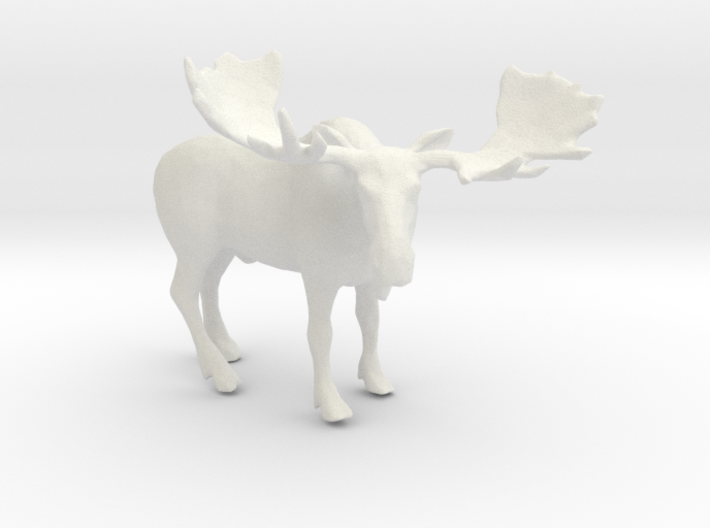 Printle Thing Moose - 1/32 3d printed