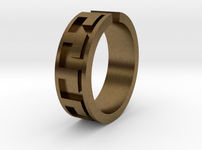 Roman Midi Ring 3d printed