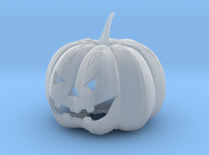 Small Halloween Pumkin 3d printed