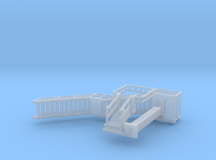 N Scale Tank Car loading Platform 1 3d printed
