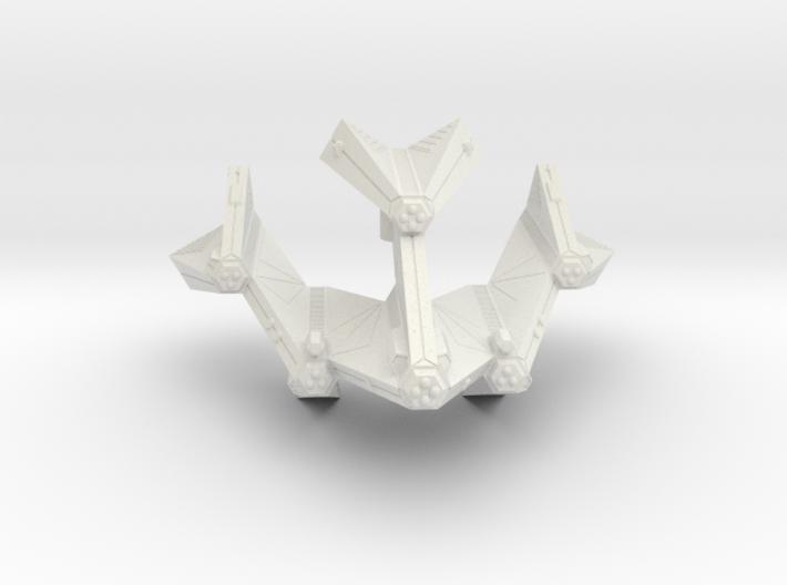 3125 Scale Tholian Battleship (BB) SRZ 3d printed
