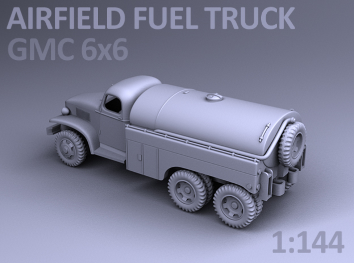 AIRFIELD FUEL TRUCK - GMC 6x6 3d printed