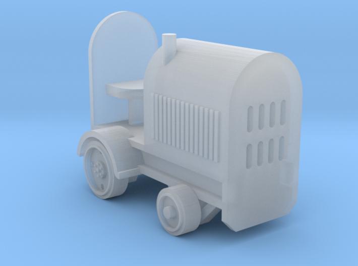 Baggage Cart Tractor N Scale 3d printed