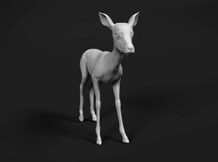 Impala 1:76 Standing Fawn 3d printed