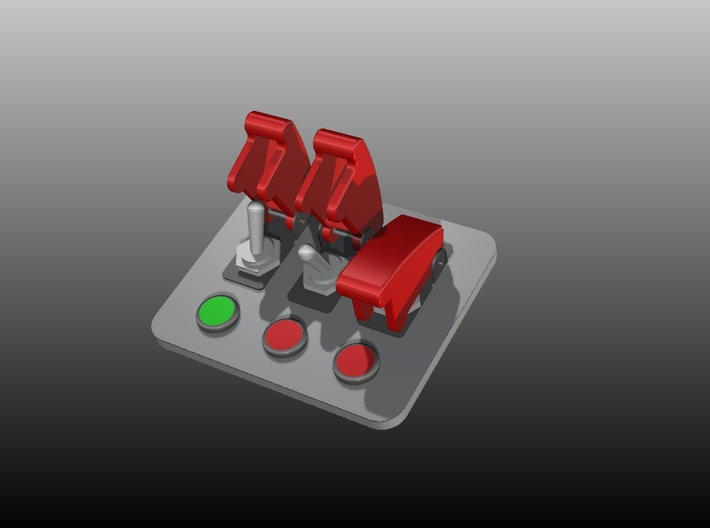 Button Box Type3 - 1/10 3d printed