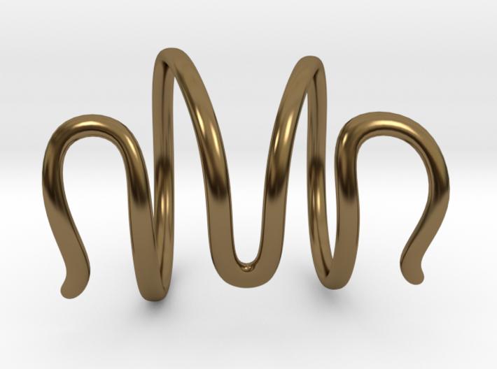 End Splint - Serpentine (14,75 mm + 13,5 mm) 3d printed