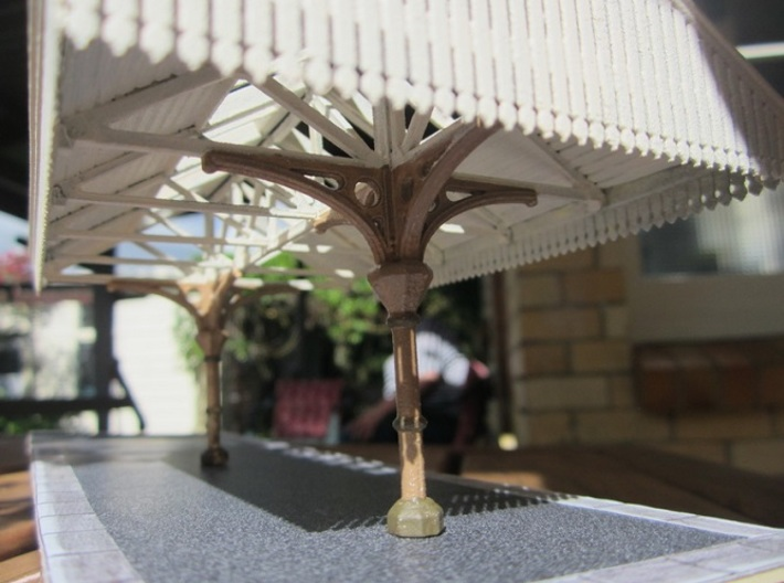 Valance Type 3 X 4 OO Scale 3d printed