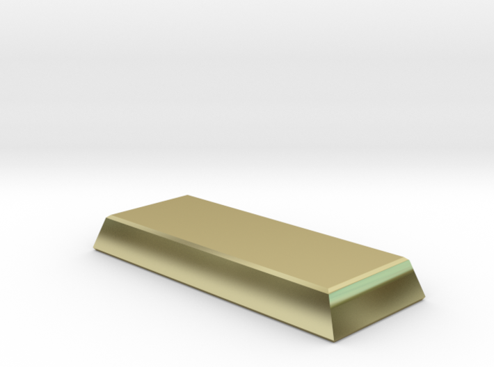 chocolate bar of wealth 3d printed