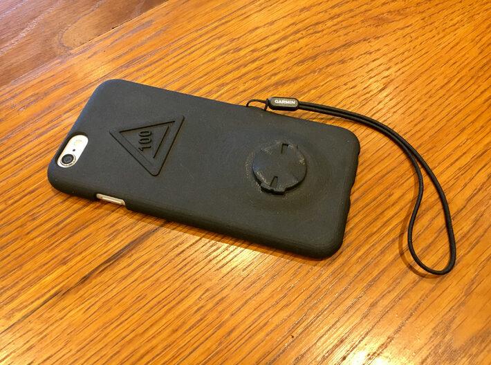 iPhone 7 Garmin Mount Case - Hill Climb 3d printed