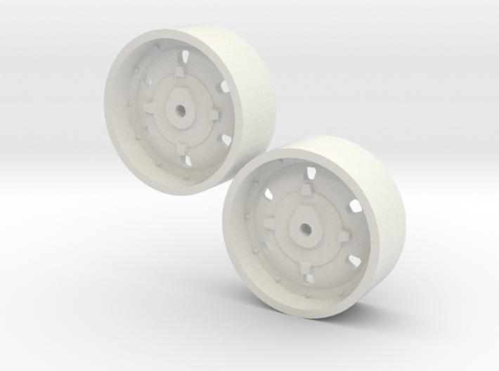 1:64 IH 2+2 Wheels 3d printed