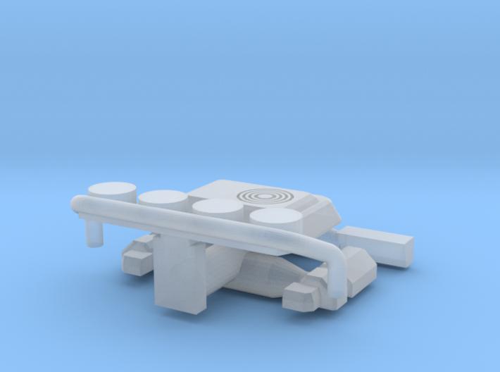 Truck accessories set (N 1:160) 3d printed