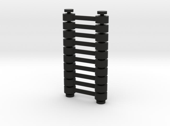 10x Kupplungsstange (Abstand=10) V2 3d printed