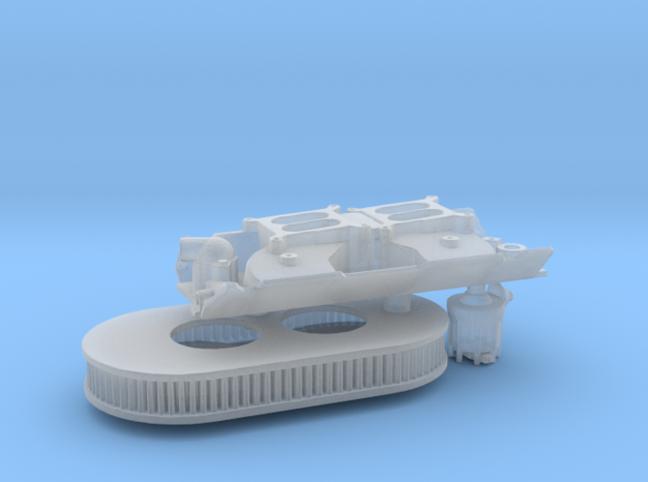 Brodix 1/25 BBC victor dual w/air cleaner 3d printed