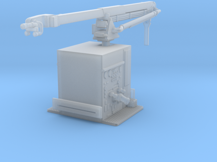 1/160 Philadelphia Snozzle boom and pump section 3d printed