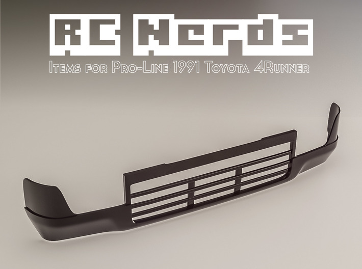 RCN058 Front bumper for Toyota 4Runner PL 3d printed