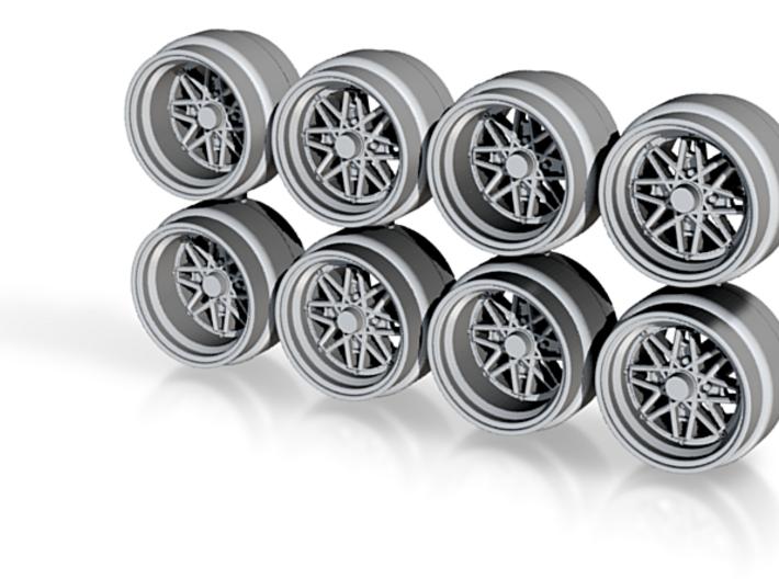 Work 03 Hot Wheels Rims 3d printed