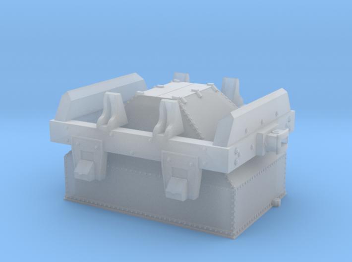 Virginia & Truckee as-built ore car (HO Scale) 3d printed