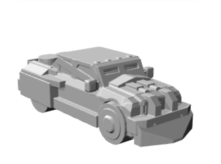 DeathRaceRally_Truck 3d printed