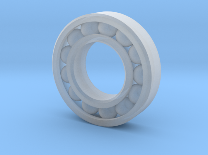 10 mm Outer Diameter Ball Bearing (Rescalable) 3d printed