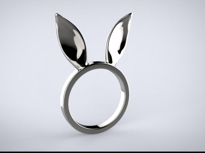 Bunny Ears Ring 3d printed RENDER