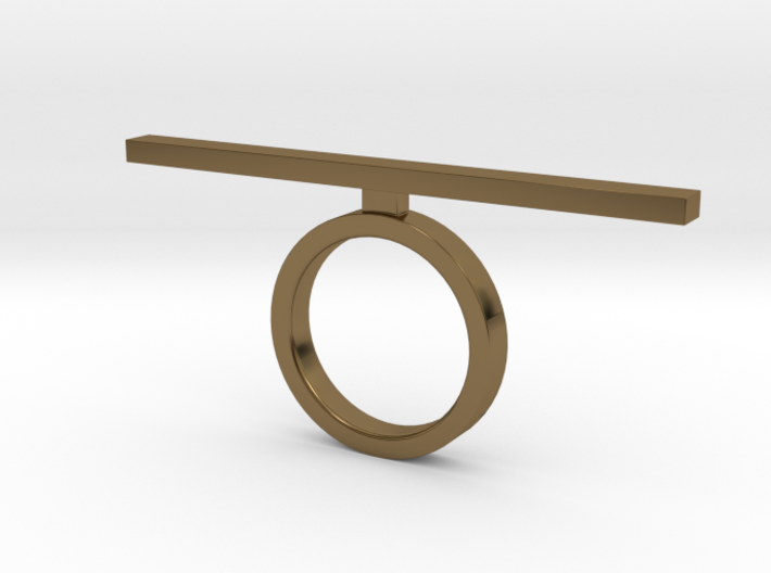 Line Ring  3d printed