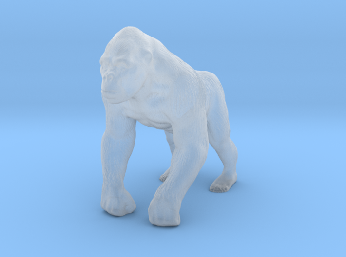 Printle Thing Gorilla - 1/76 3d printed