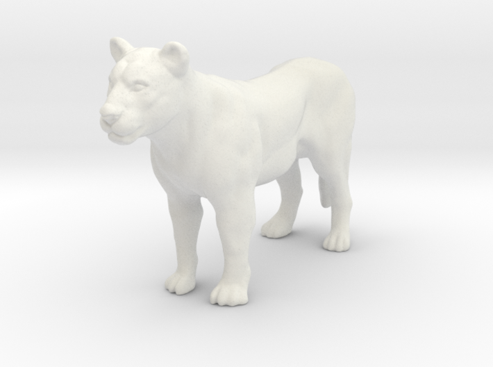 Printle Thing Lioness - 1/32 3d printed