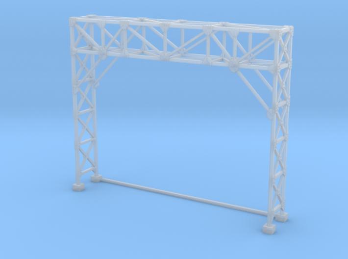 N Scale Signal Gantry 2 Tracks 3d printed