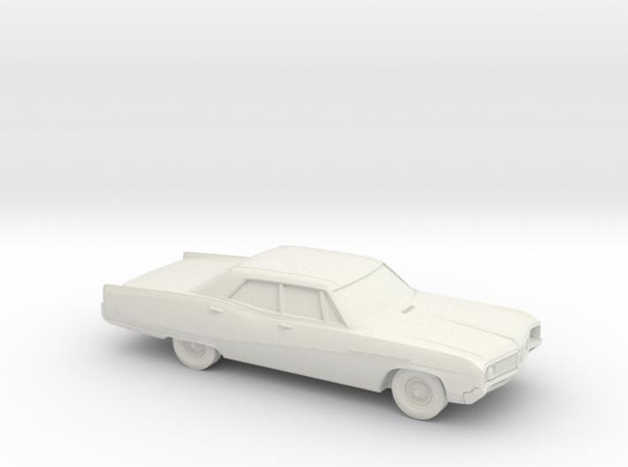 1/72 1967-68 Buick Electra Sedan 3d printed