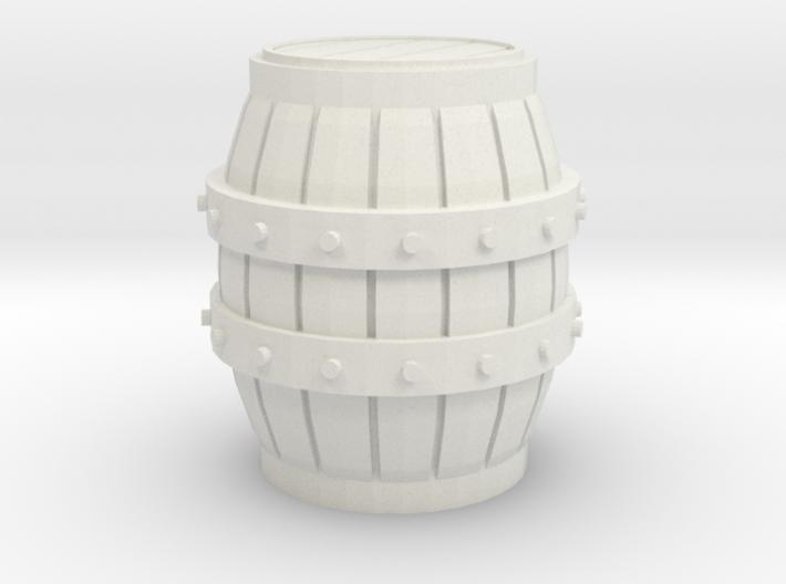 1/48 Wine Barrel 3d printed