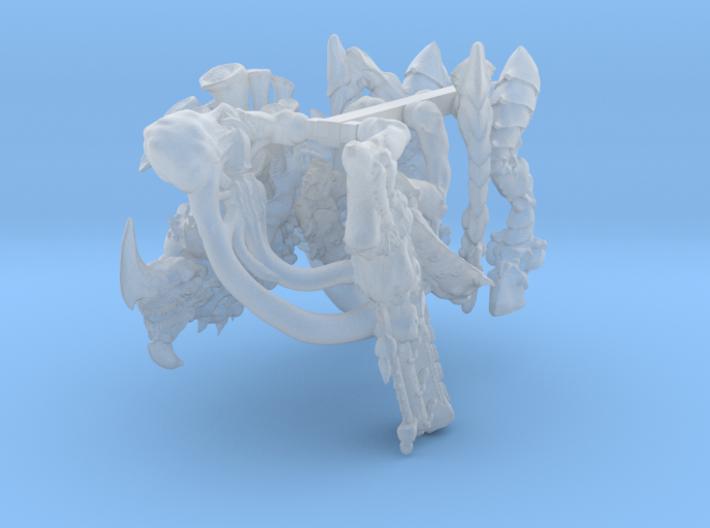 Alien Gun Bug 3d printed